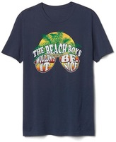 Gap Beach Boys graphic crewneck tee
