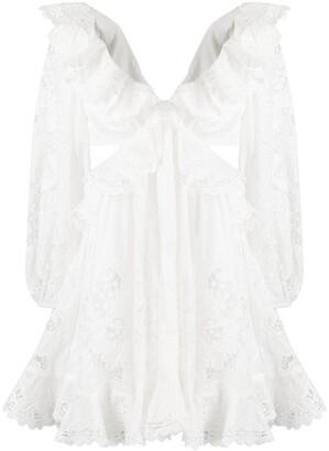 Zimmermann Cut-Out Layered Dress