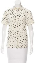 Paul Smith Polka Dot Print Top