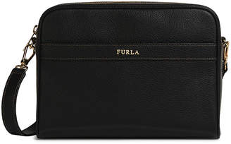 Furla Avril Small Leather Crossbody Bag