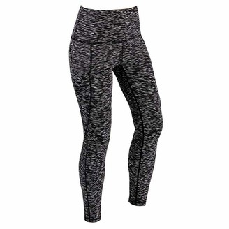 Cocila Women Workout Leggings Fitness Sports Gym Running High Waist Yoga Athletic Pants Tights with Pocket(L