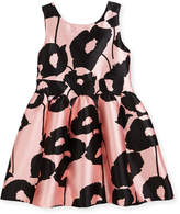 Milly Minis Poppy Floral-Print Party Dress, Size 4-7