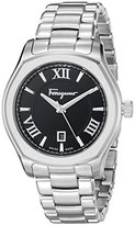 Salvatore Ferragamo Men's FQ1920015 Lungarno Analog Display Quartz Silver Watch