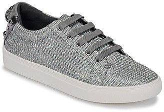 KG by Kurt Geiger LUDO women's Shoes (Trainers) in Silver