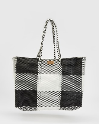 Chuchka - Women's Black Tote Bags - Zamora Mexican Tote - Size One Size at The Iconic