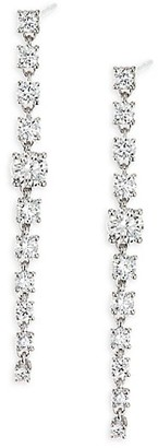Anita Ko Diamond 18K White Gold Rope Earrings