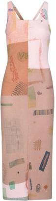Eckhaus Latta Filati knit dress