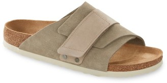Birkenstock Kyoto Grip-Tape Suede Sandals
