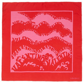 Valentino Vintage Logo Silk Foulard 85x85cm
