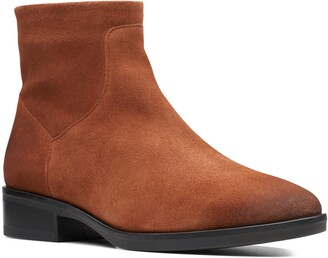 Clarks Pure Rosa Bootie