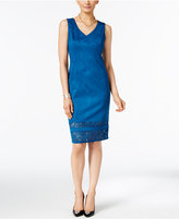 Thalia Sodi Faux-Suede Sheath Dress, Only at Macy's