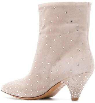 Valentino Garavani Micro Studded Ankle Boots