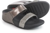FitFlop Lulu Superglitz Slide Sandals (For Women)