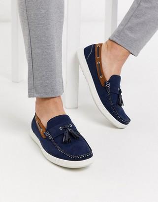 Mens Tassel Boat Shoes   Shop the world