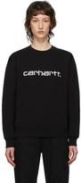 Carhartt Work In Progress Black Logo Sweatshirt