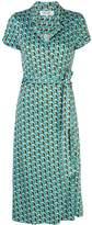 Diane von Furstenberg wrap front dress