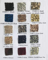 Etsy Bigger Swatch Pieces for Sequined Fabric, with 15 Colors, Large Swatch Pieces Available(RenzRags)