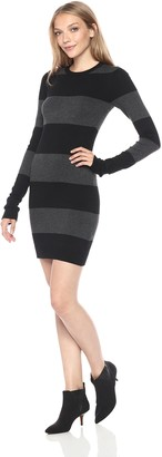 French Connection Women's Rugby Stripe Knit Dress
