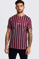 Original MAN Vertical Stripe T-Shirt