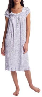 Eileen West Silver Lining Waltz Knit Nightgown