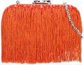 Corto Moltedo 'Susan C Star' fringed clutch - women - Silk/Nappa Leather - One Size