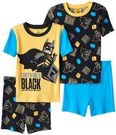 Boys 4-10 The Lego Batman Movie 4-Piece Pajama Set