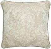 Veratex Valenti Scroll Jacquard Square Pillow