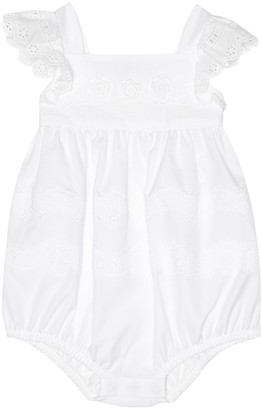 Dolce & Gabbana Baby cotton playsuit