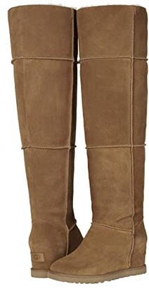 UGG Classic Femme Over-the-Knee (Chestnut) Women's Boots