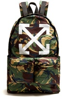Off-White Arrows cotton backpack