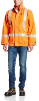 Carhartt Men's Big & Tall Flame Resistant Rain Jacket