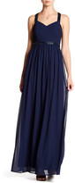 Minuet Beaded Strap Maxi Dress