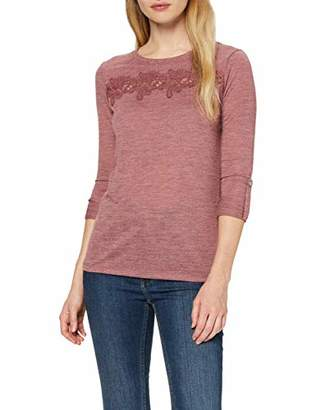 Only Women's Onlcamera 3/4 Top JRS Long Sleeve,10 (Size: Small)