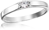 Forzieri 0.10 ctw Diamond Solitaire Ring