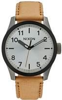 Nixon SAFARI Watch gunmetal/silver/tan