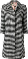 Piccione Piccione Piccione.Piccione embroidered fitted coat