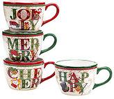 Certified International Winter Garden Jumbo Mugs, Set of 4