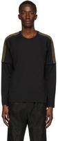 Fendi Black FF Double Sleeve T-Shirt