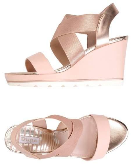 804e897fff Dune Wedge Sandals - ShopStyle UK
