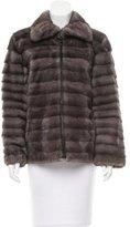J. Mendel Short Mink Coat