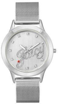 Juicy Couture Woman's Juicy Couture, 1033SVSV Mesh Bracelet Watch