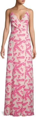 Jay Godfrey Floral-Print Maxi Dress