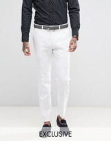 Heart & Dagger Skinny Tuxedo Trousers