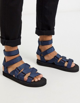 ASOS DESIGN tech sandals with tape straps