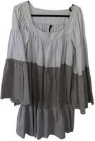 Lisa Marie Fernandez Blue / Grey Cotton Dress for Women