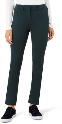 Hobbs Regular Amanda Jeans, Forest Green