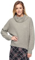 Juicy Couture Basket Weave Stitch Loose Pullover
