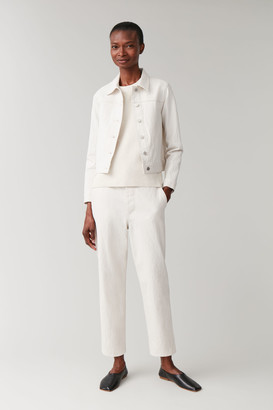 Cos Organic Cotton Cropped Jacket