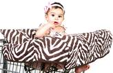 Pam Grace Creations Grocery Cart Cover Gift Set, Zara Zebra