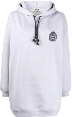 Acne Studios Headquarter-print hoodie